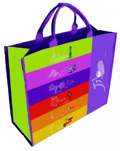 AS4HOME Shopper - Einkaufstasche - Strandtasche J´aime la France - Frankreich Tasche