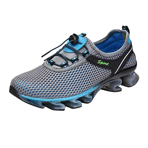 AIni Herren Schuhe 2019 Neuer Heißer Beiläufiges Mode Atmungsaktive Outdoor Wanderschuhe Freizeit Sportschuhe Watschuhe Freizeitschuhe Partyschuhe (41,Grau)
