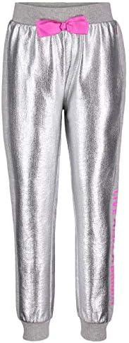JoJo Siwa Girls Love Life Bow Jogger in Silver 6 6X product image