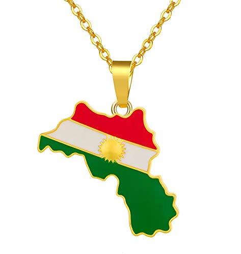 Ya Hero Ya Mero Kurdistan Halskette mit Anhänger Kette