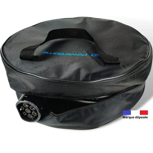 Bolsa de almacenamiento para cable de coche eléctrico o híbrido, cable de...