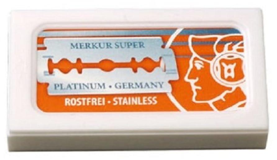 ところで哲学者サミュエルMERKUR メルクール 両刃用替刃 10P