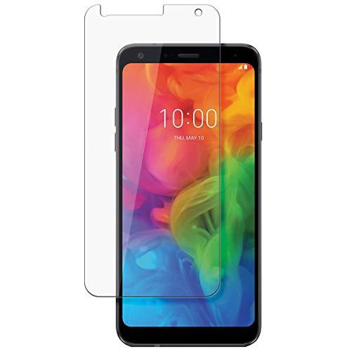 disGuard Schutzfolie für LG Q7 Plus [2 Stück] Entspiegelnde Bildschirmschutzfolie, MATT, Glasfolie, Panzerglas-Folie, Bildschirmschutz, Hoher Festigkeitgrad, Glasschutz, Anti-Reflex