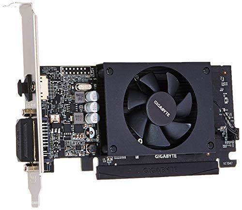 Gigabyte GV-N710D5-2GL GeForce GT 710 2GB GDDR5 graphics card - graphics cards (GeForce GT 710, 2 GB, GDDR5, 64 bit, 4096 x 2160 pixels, PCI Express x8 2.0)