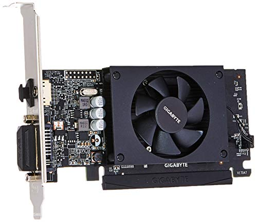 Gigabyte GV-N710D5-2GL GeForce GT 710 2GB GDDR5 graphics card - graphics cards (GeForce GT 710, 2 GB, GDDR5, 64 bit, 4096 x 2160 pixels, PCI Express x8 2.0)