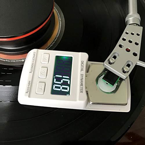 ZCY Digital Drehscheibe Stylus Force Waage Früher, Akupunktur-Messgerät Hohe Präzision Schmuckwaage, Tragbar Taschenwaage (Color : White)