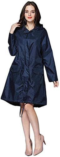 Chubasquero mujer La lluvia chaqueta impermeable Hombres Mujeres Eva Impermeable viaje impermeable al aire libre del montar a caballo del impermeable de doble capa larga ropa impermeable SLZFLSSHPK