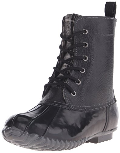 sporto Women's Jessica Duck Boot, Black, 9