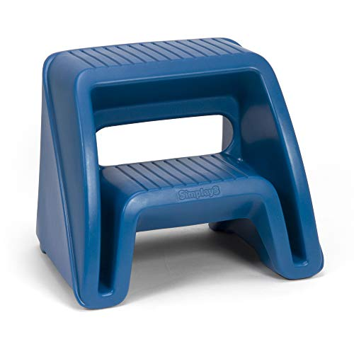 Simplay3 Handy Home 2-Step Plastic Stool 16 in. - Blue