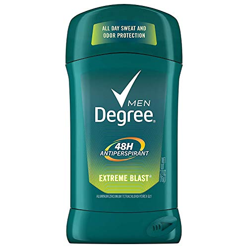 Degree Deodorant 2.7 Ounce Mens Extreme Blast (79ml) (3 Pack)