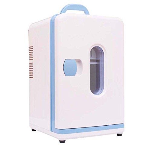 Haizh Mini-koelkast, draagbare picknick koelkast, 12 V, auto, 220 V, dubbele koeling, auto, kleine koelkast, miniatuur, enkele deur, car dual mini-koelkast, slaapzaal, koude 27 x 29 x 43 cm, voor thuis, op kantoor, auto, woonhuis of boot
