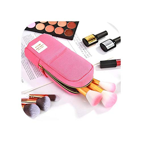 Big Incisor Bikini Makeup Organizer | Creative Zipper Pencil Case Oxford Große Pen Box Bleistifttasche Für Studentin Nettes Schulbriefpapier Einfaches Make-up-Werkzeug Aufbewahrung-C-