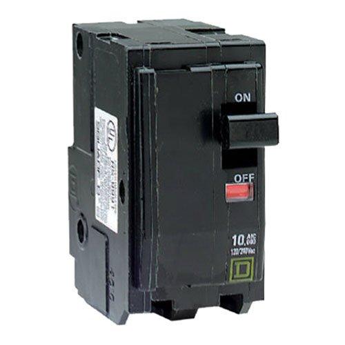 SQUARE D BY SCHNEIDER ELECTRIC QO 50-Amp Double-Pole Circuit Breaker Schneider Electric Usa Inc QO250C