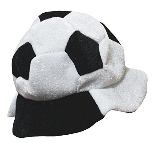 Petitebelle Costume de sport Football Chapeau mixte enfant Vêtements - Blanc - Taille Unique