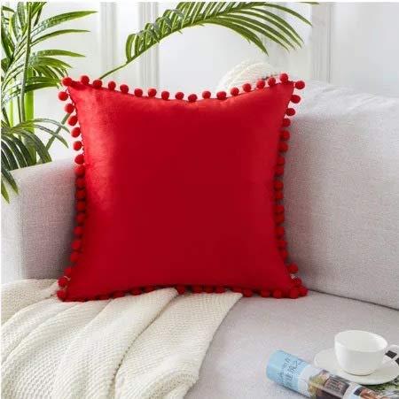 Stafeny 4 piezas de fundas de almohada, terciopelo de color sólido, funda de cojín de piel para sofá, funda de almohada, cómoda y suave, 30 x 50 cm, color blanco
