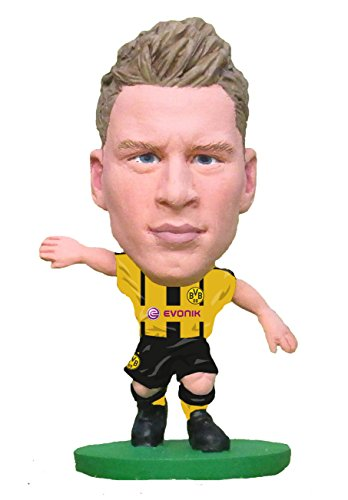 Soccer Starz soc881Borussia Dortmund Lukasz Piszczek Home Kit