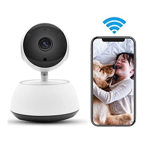 MYPNB Cámara para Mascotas Cámara LEEFISH IP de WiFi, cámara HD 720P Mascotas, Monitor de bebé, Surveilance Cubierta, Noche de detección de Movimiento Visión Audio de Dos vías de Pan/Tilt