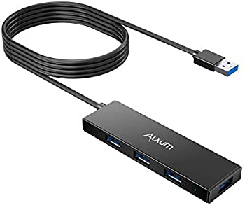 Alxum 4ft USB 3.0 Extension Hub 4-Port Cord