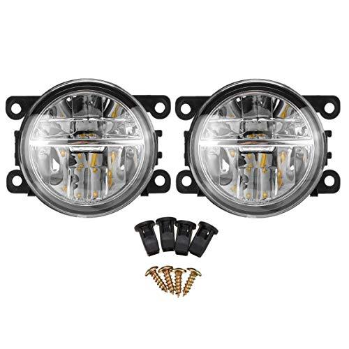 Tuoservo LED-Nebelscheinwerfer-Set für Mitsubishi Outlander Sport/Eclipse/RVR/ASX, 2 Stück