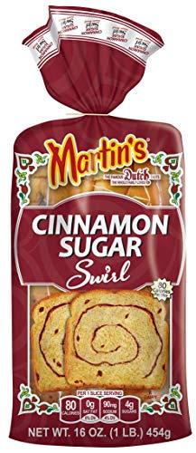 Martins Cinnamon Sugar Swirl Potato Bread, 16oz