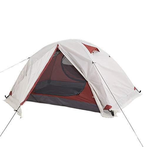 YFFSBBGSDK Camping Zelt Rucksack Camping Zelt Outdoor Camping 3-4 Saison Zelt, Snow Double Wasserdichtes Bergsteigerzelt