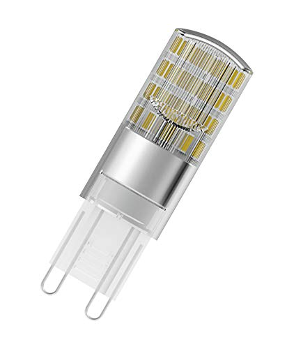 OSRAM Lot de 10 Ampoules capsules LED | Culot G9 | Blanc chaud | 2700 K | 2,6 W équivalent 30 W | LED STAR PIN G9