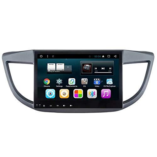 TOPNAVI 10.1Inch Indash Car Radio pour Honda CRV 2012 2013 2014 2015 Android 7.1 Voiture GPS Navigation Stereo Player avec Quad Core WiFi 32 Go ROM 2 Go de RAM 3G RDS Lien Miroir FM AM BTAudio Vidéo