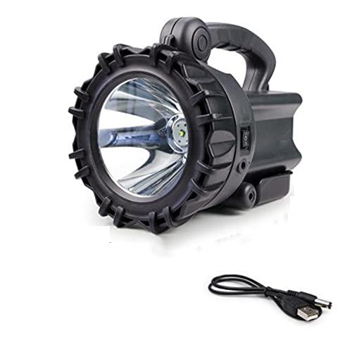 SBNM Linterna de Emergencia Recargable, Linterna de Linterna 2400 mAh para Emergencia de huracán, Senderismo, hogar y más, Cable USB Incluido