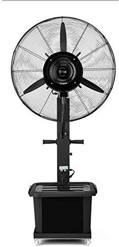 YYhkeby Ventilador de Soporte de Pedestal para fábrica de Soporte de Soporte de fábrica de Ventilador de Aerosol Industrial Añadir Agua Ventilador eléctrico Atomización al Aire Libre C Jialele