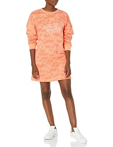 adidas Originals Women's Dress Chalk Coral/Multicolor XX-Small