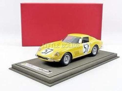 Los mejores precios y los estilos más frescos. Bbr bbr1827 bbr1827 bbr1827 Ferrari 275GTB Le Mans 1966(Escala 1 18 amarillo  venta caliente en línea