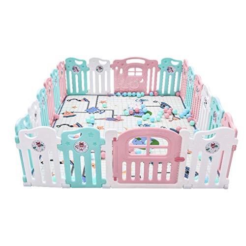 Pannello attività Divertente Materassi per Box per Bambini Protezione per Bambini Striscie per Bambini quadrate o Rotonde Forte e Durevole
