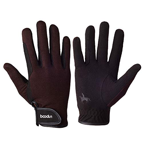 Lixada Professional Horse Riding Gloves Equestrian Horseback Riding Gloves Touch Screen Gloves for Cycling Riding Running Skiing and Outdoor Activities Men & Women