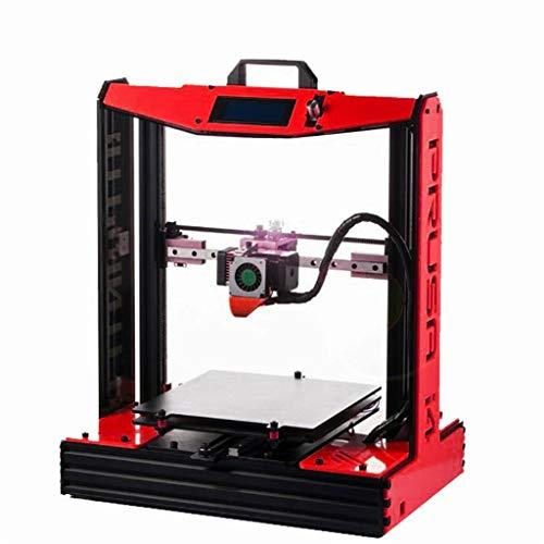 Impresora 3D De Metal for El Hogar, 4 Colores Disponibles Alta Precisión Escritorio Impresora, Versión Mejorada De MK8 (Color : Green)