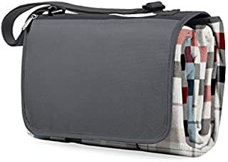 ONIVA - a Picnic Time Brand Outdoor Picnic Blanket Tote XL, Carnaby Street