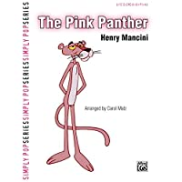The Pink Panther - Piano Solo - Sheet Music - (Henry Mancini, Piano Solo - Late Elementary)