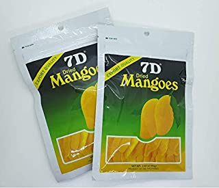 Naturally Delicious 7D Mangoes Tree Ripened Dried Mango 2 pack