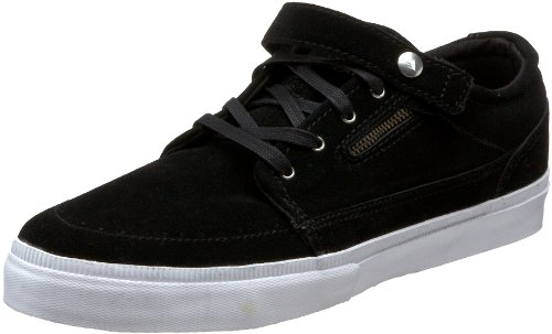 Emerica The SZA Skateboard-Schuh für Herren, Schwarz (Schwarz/Weiß/Gummi.), 44 EU