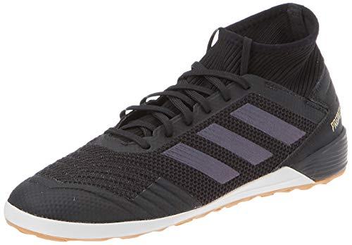 adidas Herren Predator 19.3 IN Fußballschuhe, Mehrfarbig (Core Black/Core Black/Gold Met. F35617), 42 EU