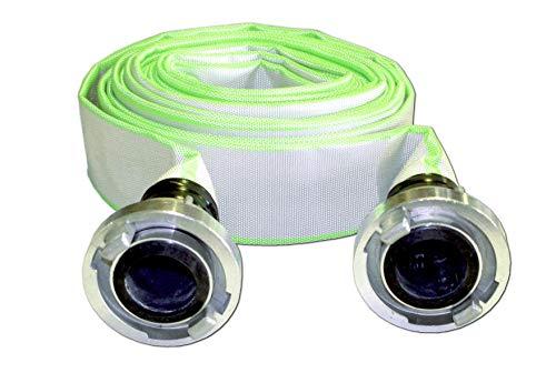 Bauschlauch Industrieschlauch Flachschlauch Wasserschlauch mit B-75 Storz Kupplungen 3
