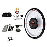 OUKANING - Kit de conversión para Bicicleta eléctrica (28', 250 W, 36 V, Pantalla LCD)