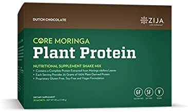 core moringa plant protein vanilla