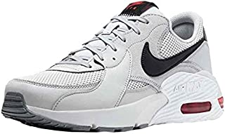 Nike Air Max Excee Mens Running Trainers CD4165 Sneakers Shoes (uk 9.5 us 10.5 eu 44.5, grey fog black white red 004)