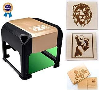 laser engraving machine Laser Engraver Printer 3000mW Mini desktop laser engraver machine DIY Logo laser engraver 7.5X7.5CM (3000mW) (3000mW)