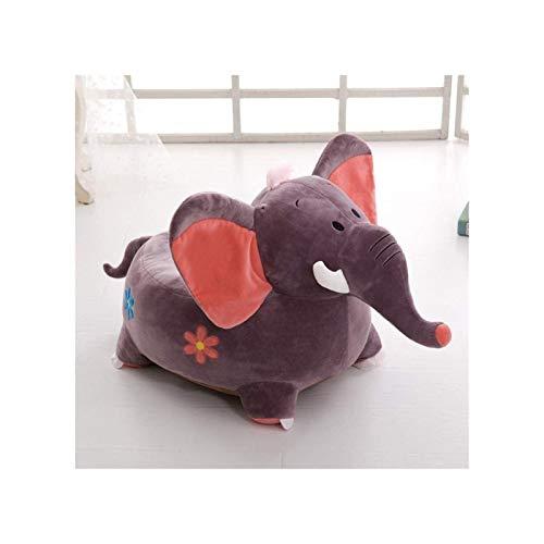 Sofá de niño de dibujos animados, de heces de elefante niño de la historieta del asiento del sofá de niños Sillón de los niños, juguete de la felpa de Cdren, Niña y muchacho del cumpleaños de