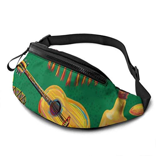 JOCHUAN Mädchen Gürteltasche Retro Kunst Ethnische Gourmet Pyramide Hüfttasche Mit Kopfhöreranschluss Und Verstellbare Träger Taillentaschen Männer Für Reisesport Wandern