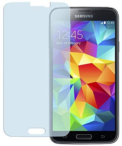 kazoj Premium Panzerglasfolie kompatibel mit Samsung Galaxy S5 / S5 Neo Glasfolie 9H in kristallklar (2 Stück)
