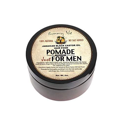 Sunny Isle Jamaican Black Castor Oil Hair Pomade For Men (Pack of 2)