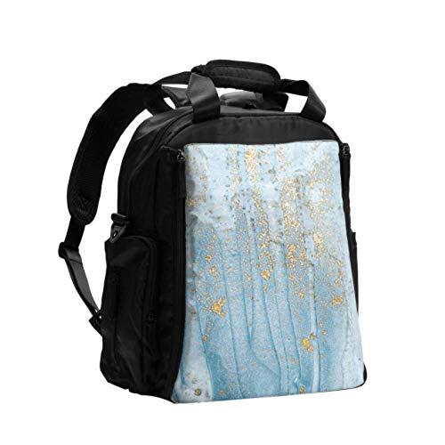 Windel Wickeltasche Rucksack Abstrakt Ocean Natural Luxus Wickeltasche Wickelauflage Set Multifunktions-Reiserucksack Mit Windel Wickelunterlage Für Babypflege