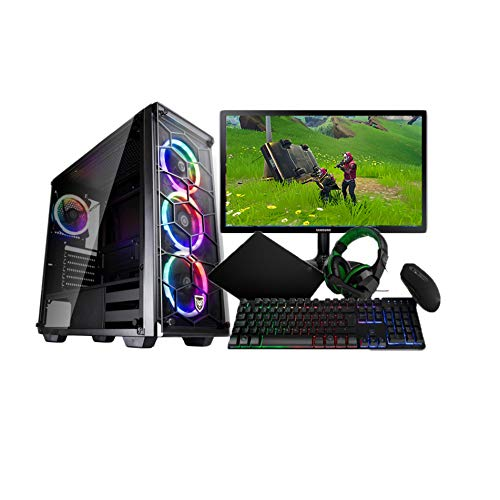 THE GAMINGSTORE: PC Gaming/Pack Gaming/PC Gamer/Completo AMD RYZEN 5 2600 con Grafica GTX 1650 +Monitor Full HD 22 Pulgadas +Teclado Y Raton De Regalo